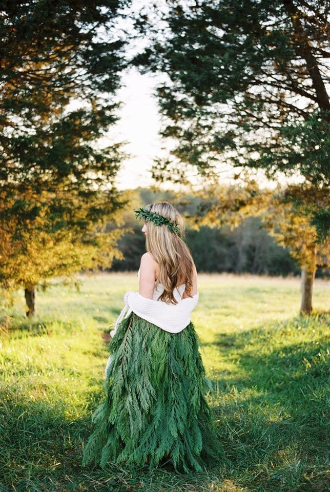 Evergreen Winter Bride