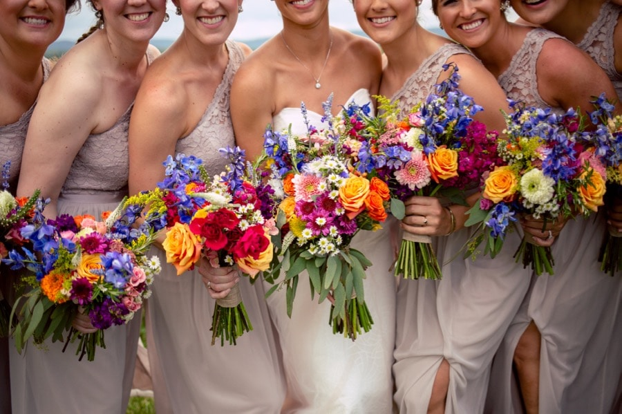 Kelsey and her bridesmaids