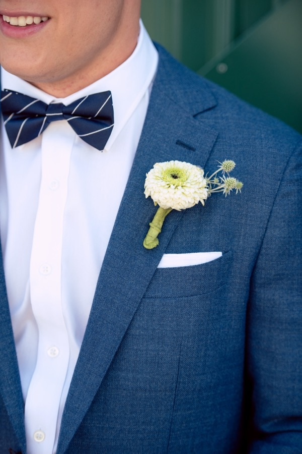 Chambray Grooms suit